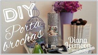 getlinkyoutube.com-DIY: PORTA BROCHAS, PINCELES Y COSMÉTICOS