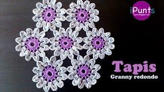 getlinkyoutube.com-Granny redondo paso a paso (crochet)