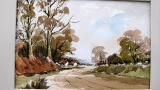 getlinkyoutube.com-lets paint a watercolor the Wesson way with Alan