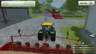 getlinkyoutube.com-Zagrajmy w Farming Simulator 2013 na multiplayer #26 - Ok. 900K wydane, czyli najdroższy odcinek :D