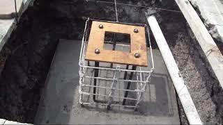 getlinkyoutube.com-Zapatas de Concreto Armado con Anclas Para Columnas de Acero
