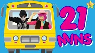 getlinkyoutube.com-Wheels On The Bus Song & More | Sing Along Kids Songs & Nursery Rhymes | Johny Johny | Finger Family