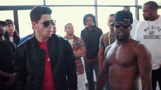 Vanilla Wafer vs Chocolate Droppa | Nick Jonas & Kevin Hart