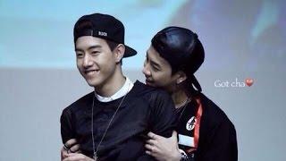 getlinkyoutube.com-Markson Moments♡ (GOT7 Mark & Jackson) #2