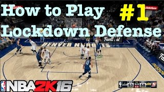 NBA 2K16 Defense Tips How to Defend in NBA 2K16 Defensive Settings Tutorial Pt.1 #41