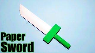 getlinkyoutube.com-How to make a Paper Sword - Easy