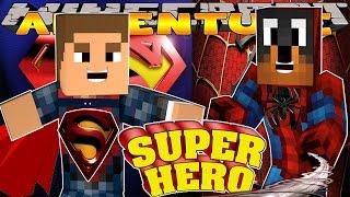getlinkyoutube.com-Minecraft - Little Donny Adventures - SUPERMAN & SPIDERMAN FIGHT THE JOKER