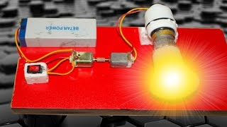 getlinkyoutube.com-How to make a energy Generator at home