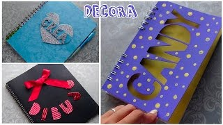 getlinkyoutube.com-Decora tus cuadernos fácil y bonito │Candy Bu