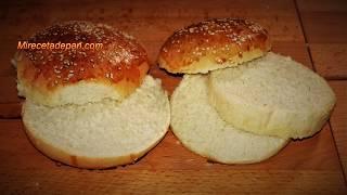 Receta de Pan de Hamburguesa - Normal y tipo Big Mac
