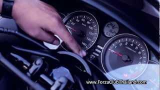 getlinkyoutube.com-Honda Forza 300i Top Speed Test