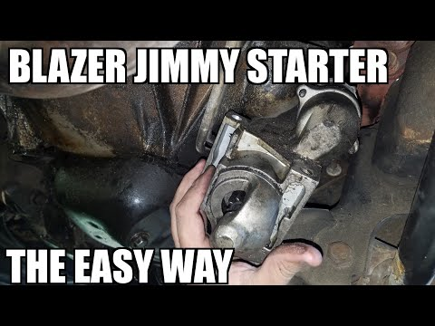82-94 Jimmy Starter Replacement 'How to