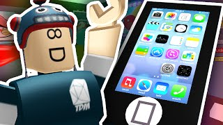 getlinkyoutube.com-ESCAPE THE GIANT IPHONE?! | Roblox
