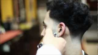 getlinkyoutube.com-THE BLOW OUT TAPER | BROOK FADE | HD - TIMELESS BARBERS