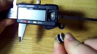Digital caliper disassembling