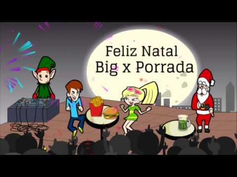 Big x porrada vídeo de Natal