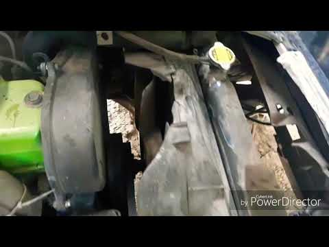 Замена радиатора хендай портер 1