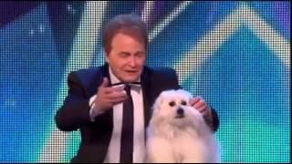 getlinkyoutube.com-رجل يؤكد أن كلبته تنطق ولجنة التحكيم تسخر منه! فهكذا كانت النتيجة