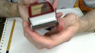 getlinkyoutube.com-MOSER 1400 - выставление ножей