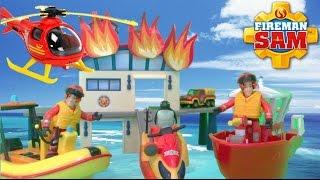 getlinkyoutube.com-🚒 Feuerwehrmann Fireman Sam New Episodes Compilation 🔥 Fire Trucks 🔥 Season 6