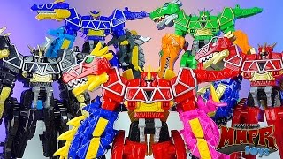 getlinkyoutube.com-Limited Edition Dino Charge Megazord Review! (Power Rangers Dino Super Charge)