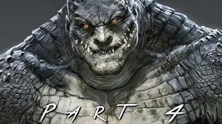 getlinkyoutube.com-BATMAN RETURN TO ARKHAM (Arkham Asylum) Walkthrough Gameplay Part 4 - Killer Croc (PS4 Pro)