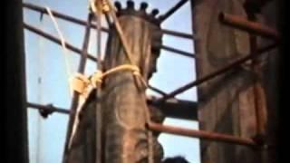 Capri 1979: La posa della Statua di S.Maria del Soccorso sul Monte Tiberio