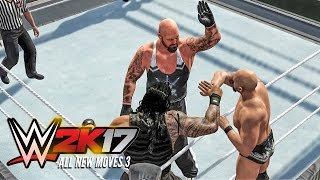 getlinkyoutube.com-WWE 2K17 All new moves part 3! (FUTURE STARS PACK DLC)
