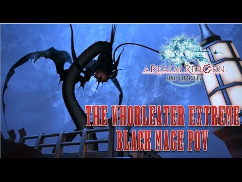 FInal Fantasy XIV: ARR Leviathan Extreme - Black Mage PoV PS4