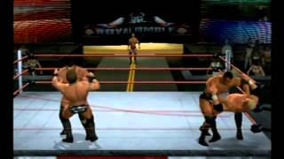 getlinkyoutube.com-Smackdown vs Raw 2010  (PS2) 30-Man Royal Rumble