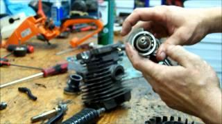 getlinkyoutube.com-Stihl MS290 MS310 MS390 chainsaw repair