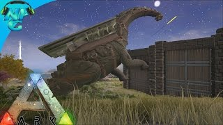 Raiding with the Titanosaur! ARK Survival Evolved - PvP Season E24