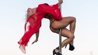 getlinkyoutube.com-The world's best pole dancer - Anastasia Sokolova - Pole Dance - Ibiza 2014