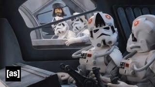 getlinkyoutube.com-Two Horse Race | Robot Chicken: Star Wars Special | Adult Swim