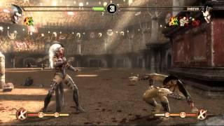 Mortal Kombat 9 Komplete Edition PC Sindel vs Sheeva