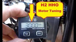 getlinkyoutube.com-HHO Motor Stromerzeuger 90 % Benzin Einsparung.