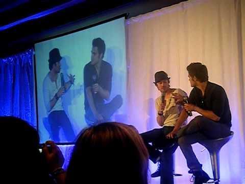 Bloody Night Con 2 Barcelona Ian Somerhalder and Paul Wesley 2