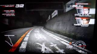 getlinkyoutube.com-頭文字D 4 TSUKUBA AE86 VS S2000 (女生駕駛)