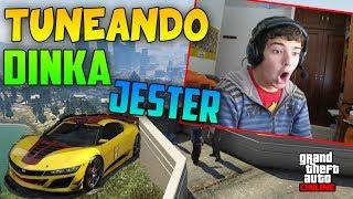 getlinkyoutube.com-Tuneando el... ¡¡ DINKA JESTER !! ¡¡ EN 2.0 !! - GTA V Online 1.11 DLC Business Update