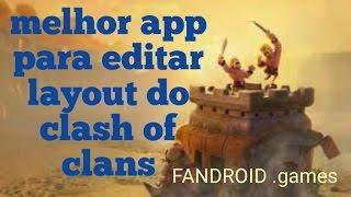 getlinkyoutube.com-Melhor APP para editar layout do clash of clans