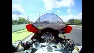 getlinkyoutube.com-Hockenheimring Motorrad Crash onboard SC59 Honda Fireblade HD