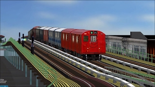getlinkyoutube.com-OpenBVE HD: Chasing NYC Subway Train of Many Colors [New Release] on 6 Express Line (2/20/17)