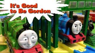 """getlinkyoutube.com-トーマス プラレール ガチャガチャ ゴードンでよかった Tomy Plarail Thomas """"It's Good to Be Gordon"""""""