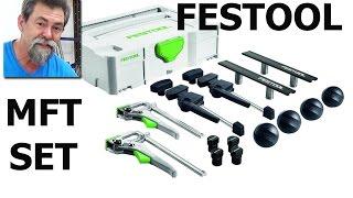 Festool MFT FX Set | How to | Barry the pug