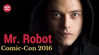 SDCC 2016: Rami Malek de Mr. Robot