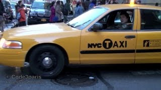 getlinkyoutube.com-NYPD Undercover Police Taxi Responding Lights and Siren