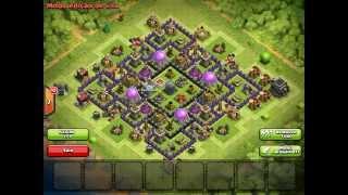 getlinkyoutube.com-เทคนิควิธีการจัดบ้านฟาร์ม clash of clans
