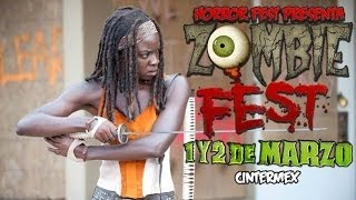 Zombie Fest 2014 Cintermex Mty