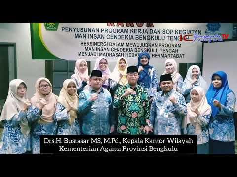 KaKanWil Kemenag Prov. Bengkulu & MAN IC Benteng t