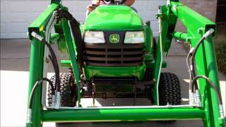 getlinkyoutube.com-Attaching the John Deere 45 Front End Loader